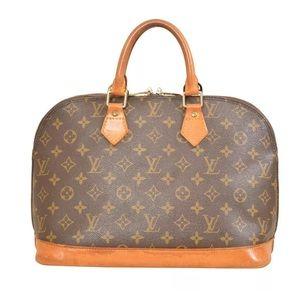 Louis Vuitton Monogram Alma Hand Bag